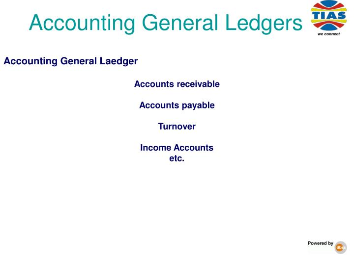 Accounting General Ledgers