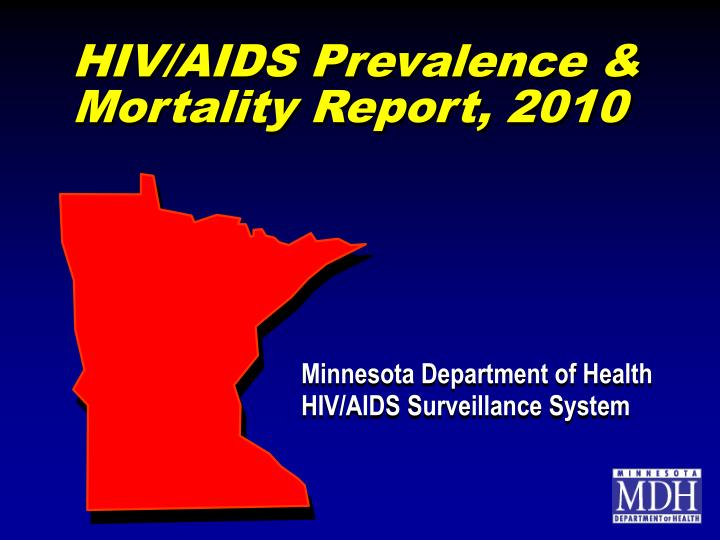 hiv aids prevalence mortality report 2010 n.
