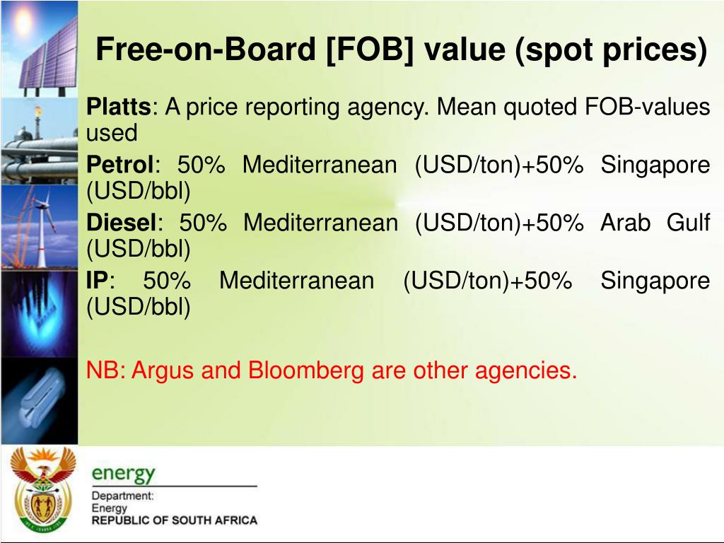 PPT - PRESENTATION TO THE PORTFOLIO COMMITTEE ON ENERGY FUEL PRICES