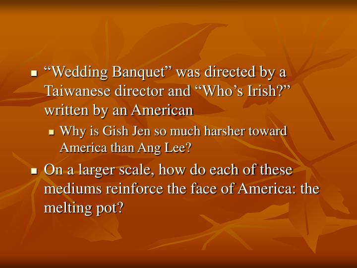 gish jens whos irish characterization The story who's irish by gish jen is a story of an elderly chinese woman , living in america, trying to help her daughter and her family raise her.