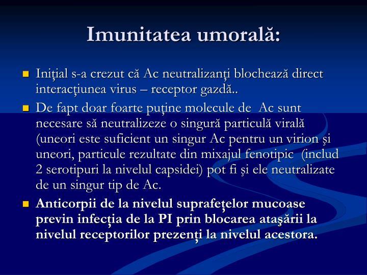 Imunitatea um