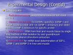 experimental design cont d1