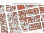 plan parcelaire et mise en valeur le bati en milieu urbain