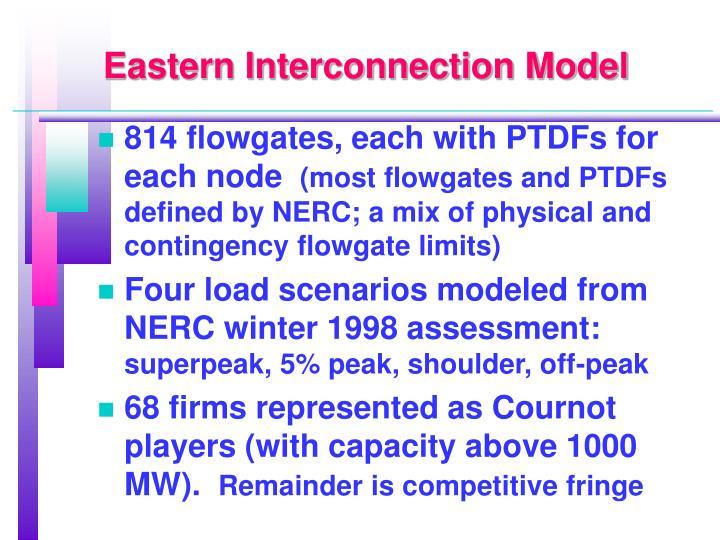 Eastern Interconnection Model