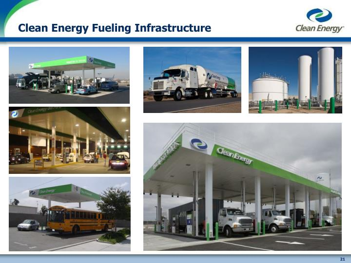 Clean Energy Fueling Infrastructure