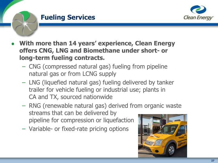 Fueling Services