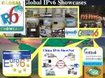 global ipv6 showcases