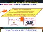 ipv6 speeding up the uptake