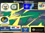 winning defence