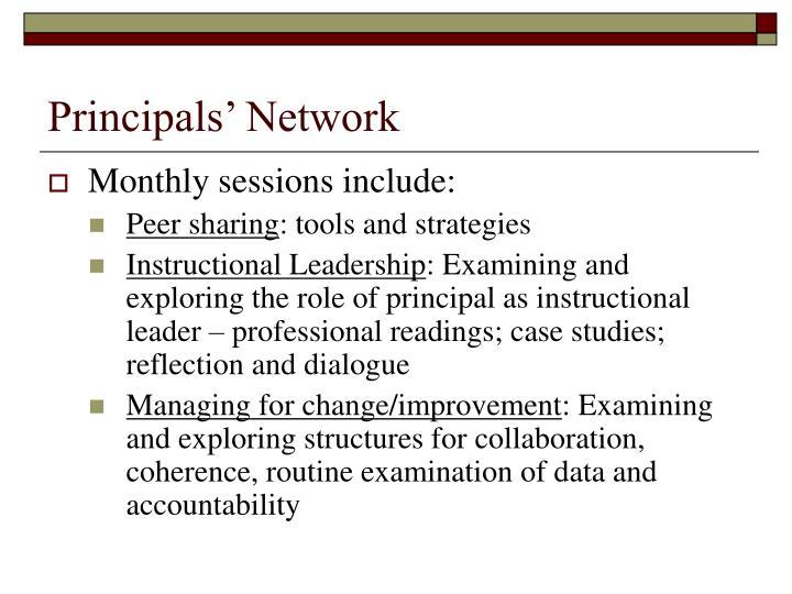 Principals' Network