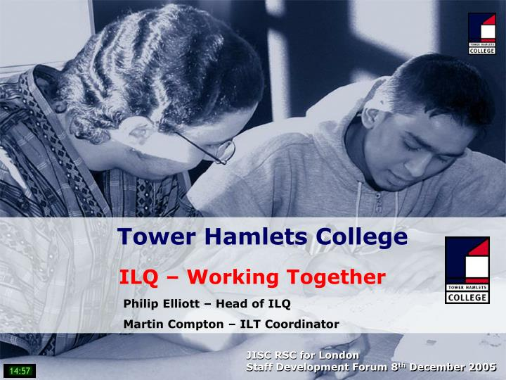 tower hamlets college n.