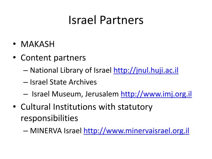 Israel Partners