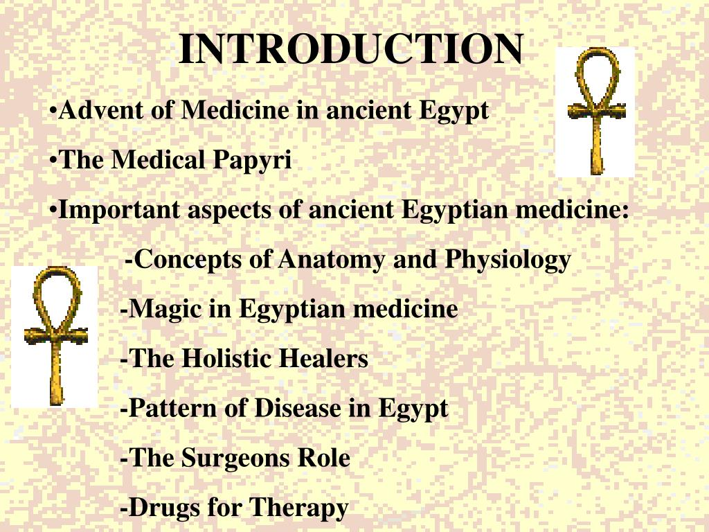 PPT - MEDICINE IN ANCIENT EGYPT PowerPoint Presentation - ID