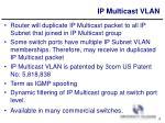 ip multicast vlan