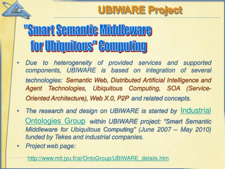 UBIWARE Project