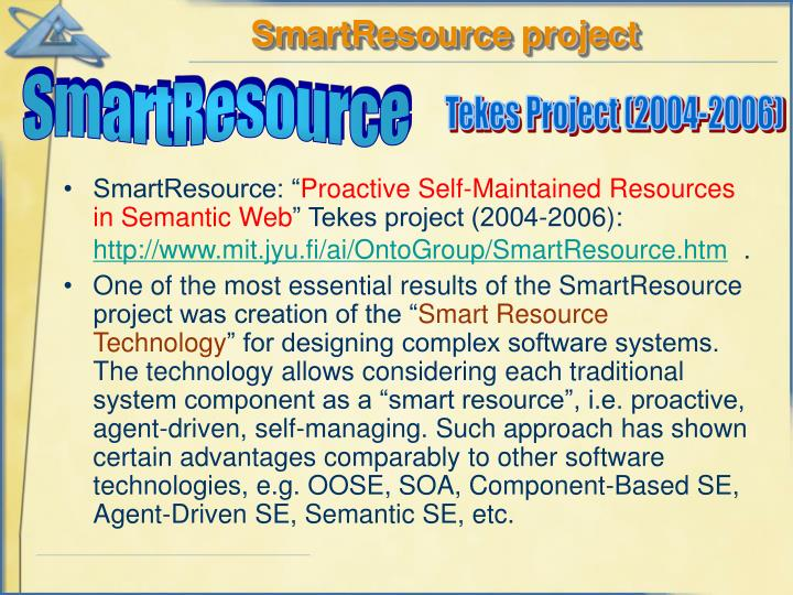 SmartResource project
