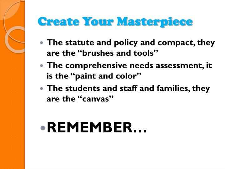 Create Your Masterpiece