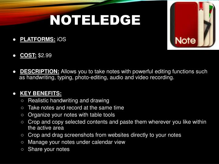 NoteLedge