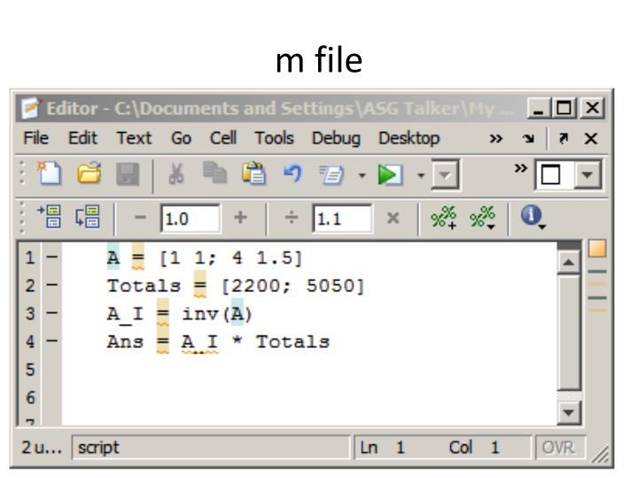 m file