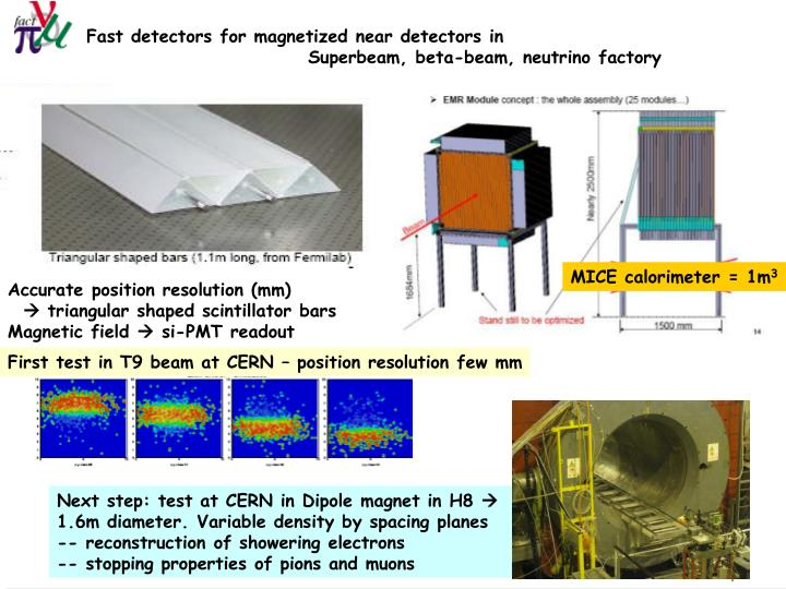 Fast detectors for magnetized near detectors in