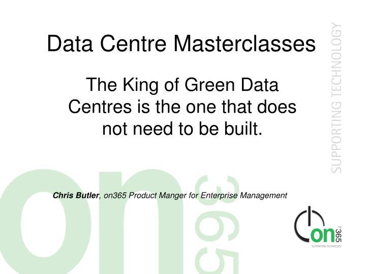 data centre masterclasses n.