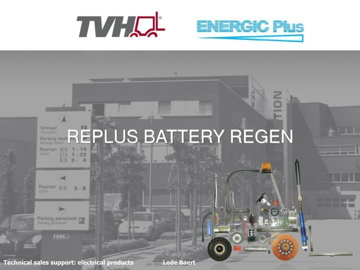 replus battery regen n.