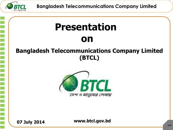 Bangladesh Telecommunications Company Limited