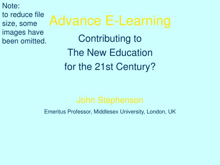advance e learning n.