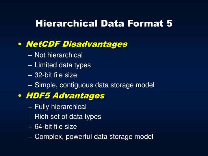 Hierarchical Data Format 5