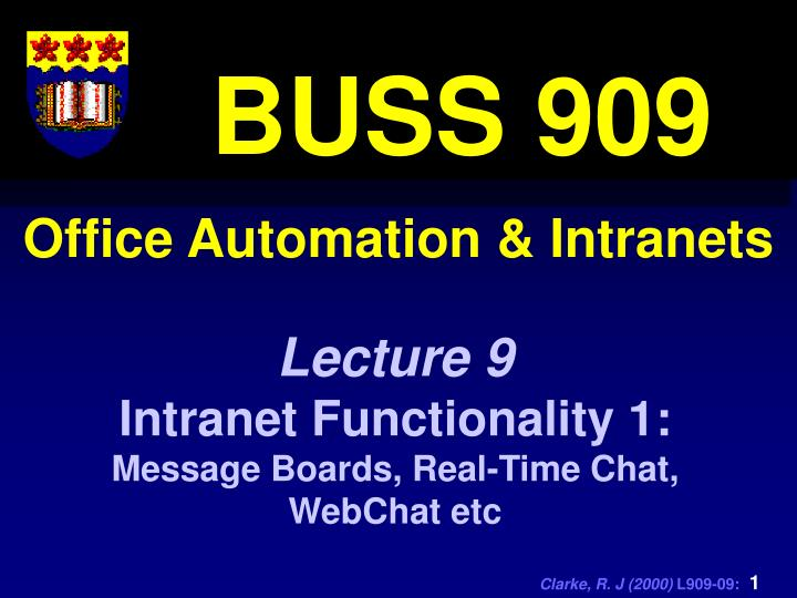 office automation intranets n.