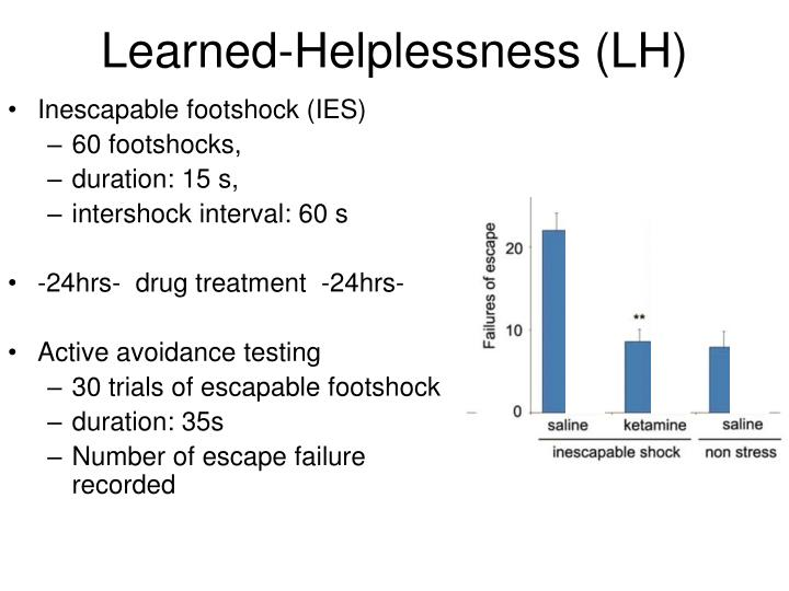 effects of motivation on learned helplessness The aim of this section is to understand how an individuals personality affects their motivation  motivation & personality  this is known as learned helplessness.