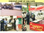 checkup camp of cng cars