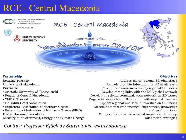RCE - Central Macedonia
