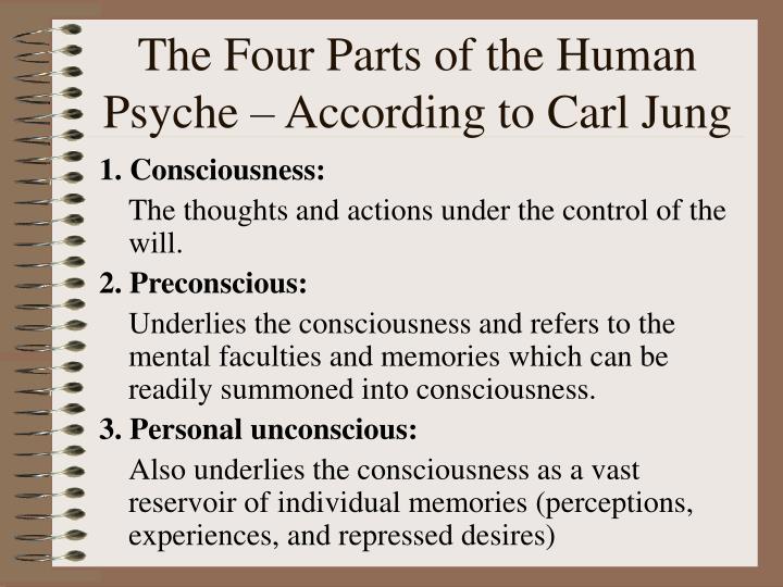 carl jung human psyche