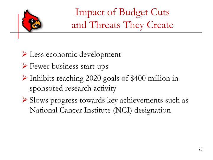 Impact of Budget Cuts