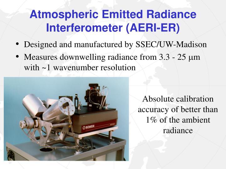 Atmospheric Emitted Radiance Interferometer (AERI-ER)