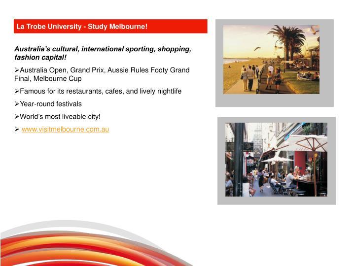 La Trobe University - Study Melbourne!
