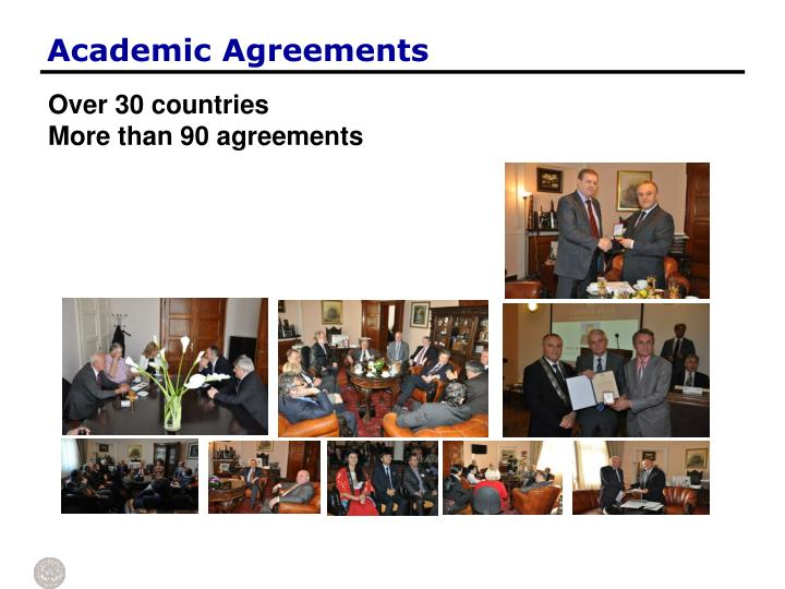 Academic Agreements