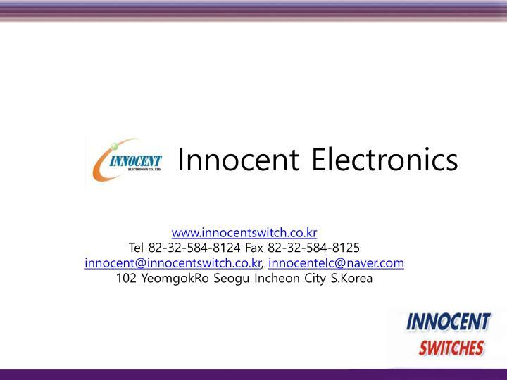 Innocent electronics