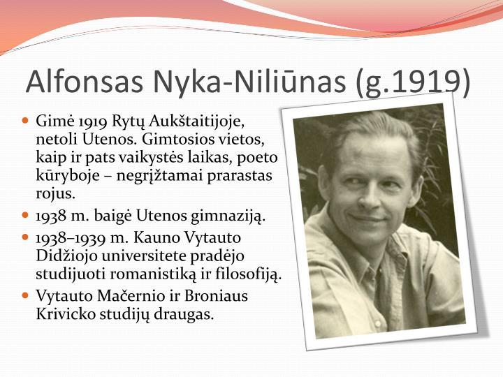 Alfonsas Nyka-Nili