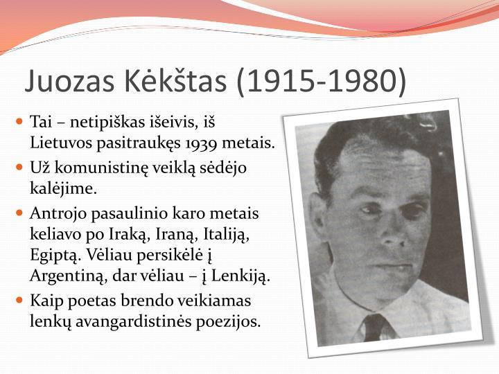 Juozas Kėkštas