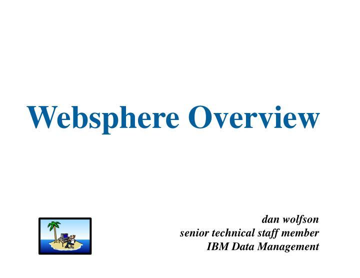 websphere overview n.