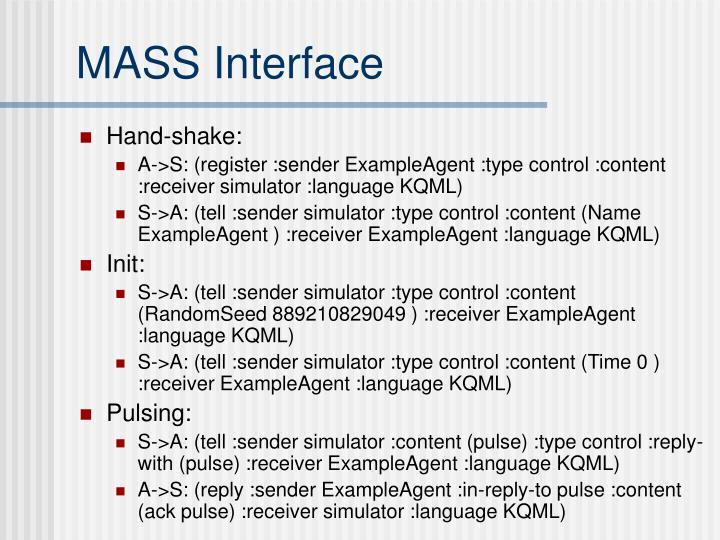 MASS Interface