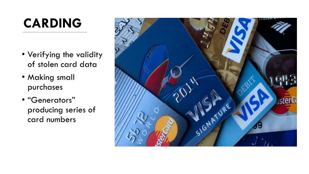 PPT - CREDIT CARD FRAUD PowerPoint Presentation - ID:3320960