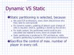 dynamic vs static1