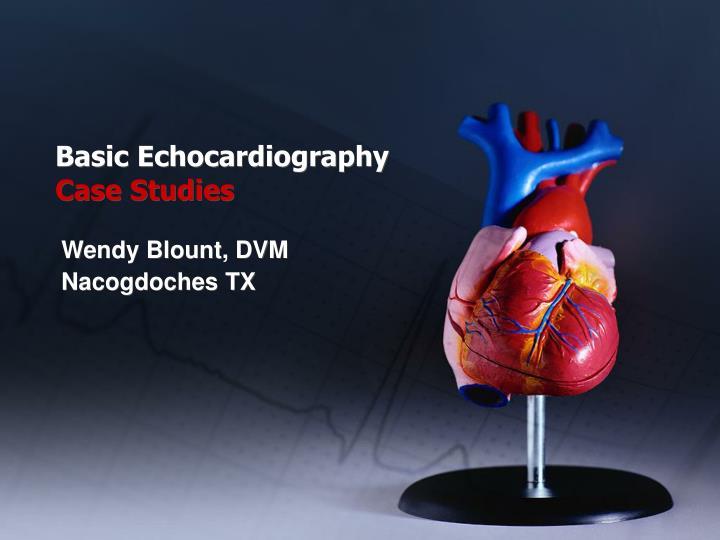 basic echocardiography case studies