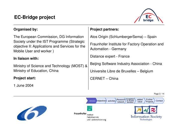Ec bridge project