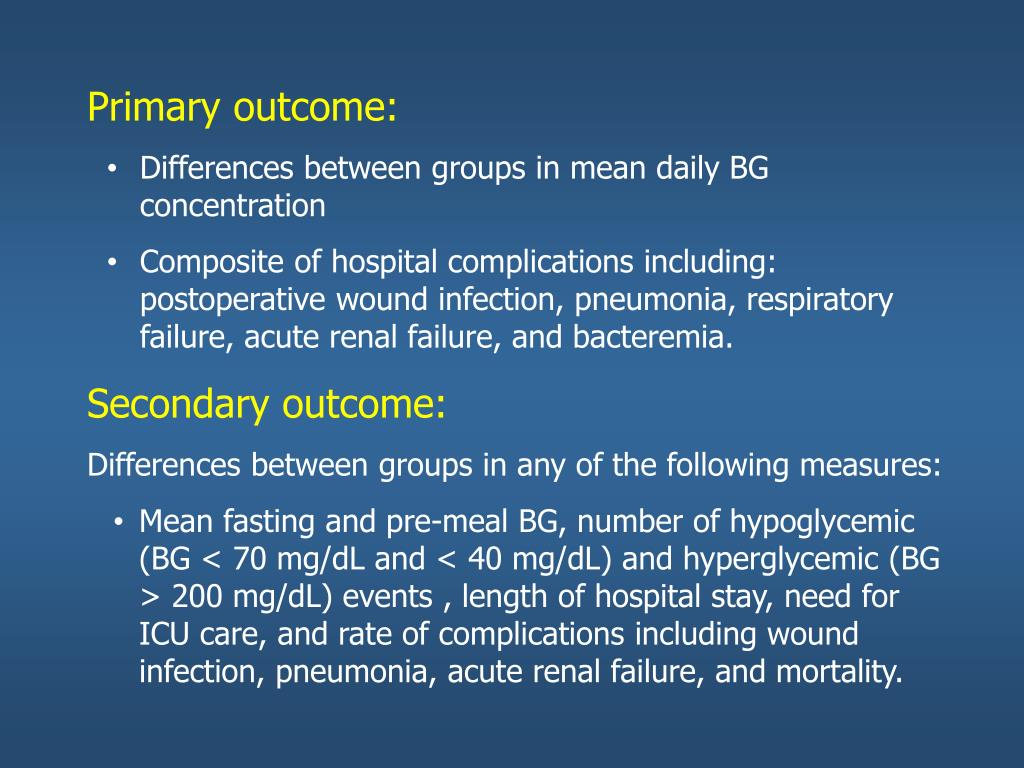PPT - Inpatient Hyperglycemia in non-critical care setting