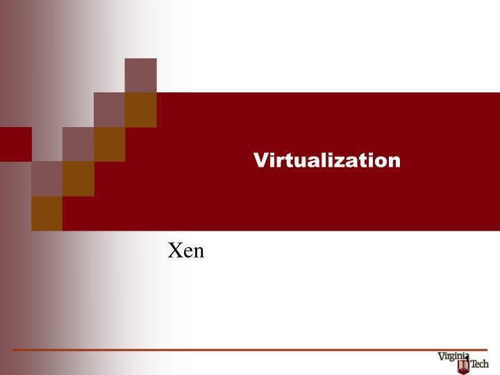 virtualization n.