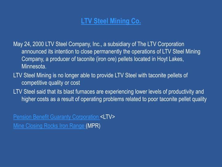 LTV Steel Mining Co.